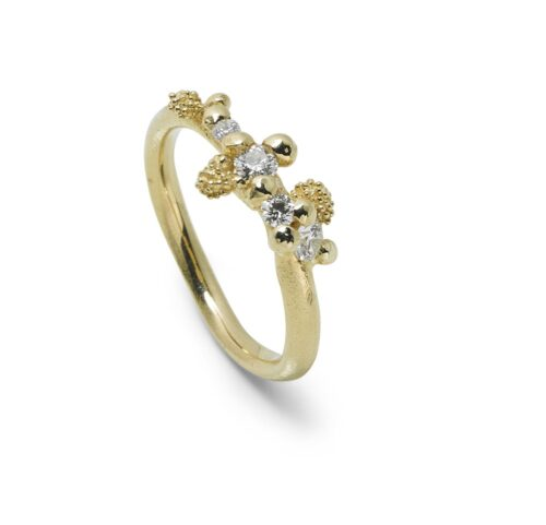 Twinkle Ring Diamond 14kt Gold