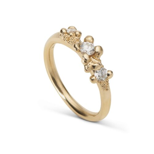 Twinkle Diamond 3 Stone Ring