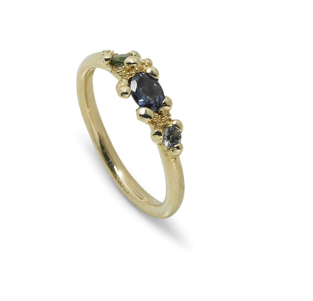 Twinkle Ring 14kt Gold