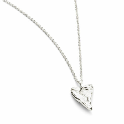 Heart Medium Necklace Silver