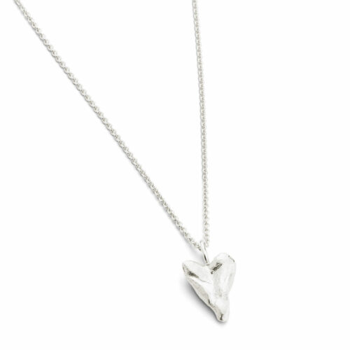 Heart Small Necklace Silver
