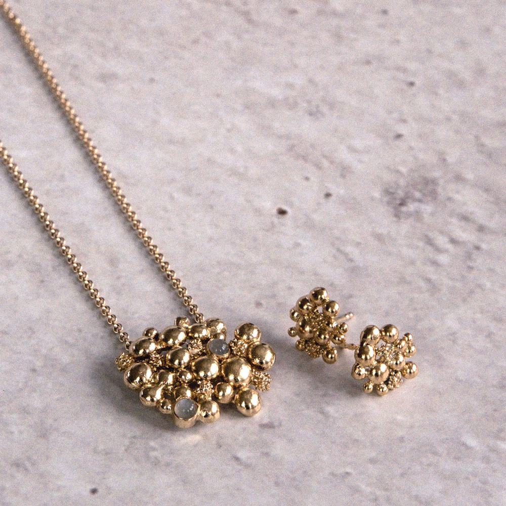 Blossom Stick Gold Plated