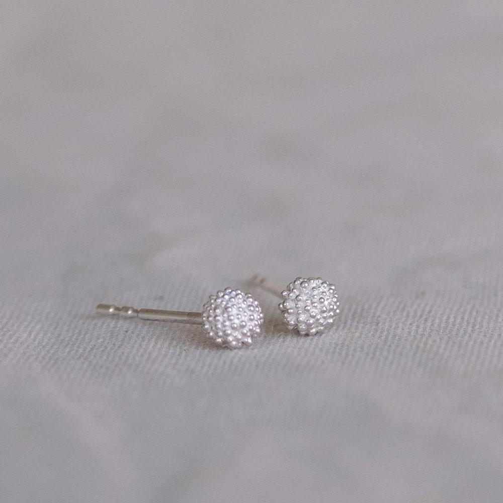 Fuzzy snowball Medium Silver