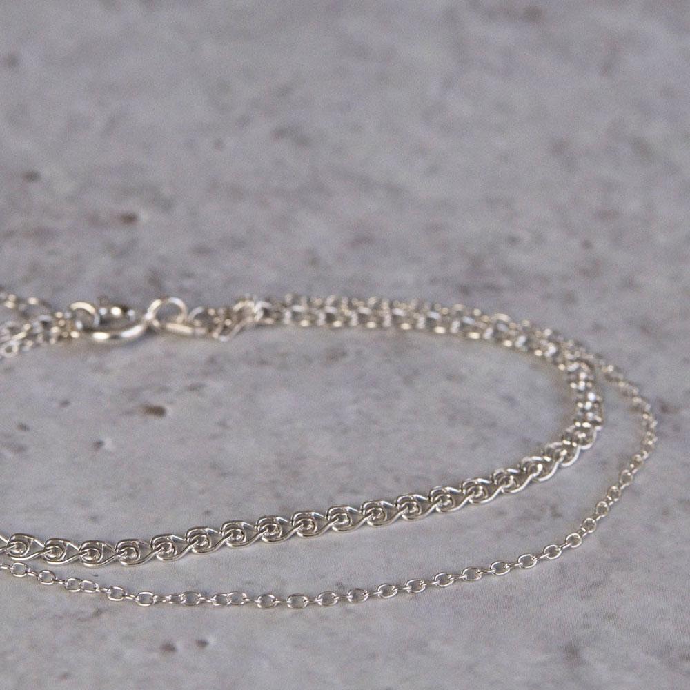 Orient Chain Bracelet Silver