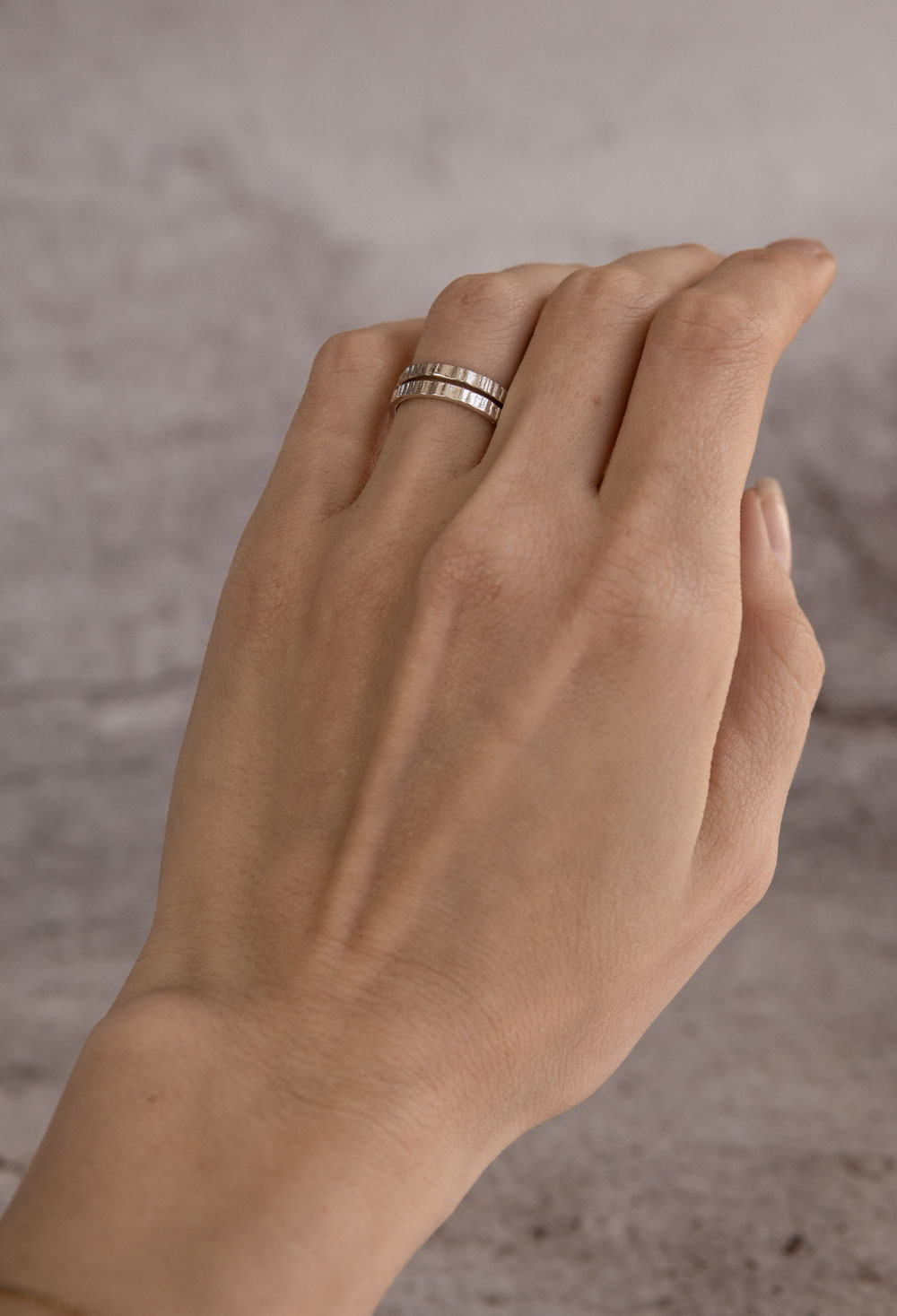 Ionic Ring Silver