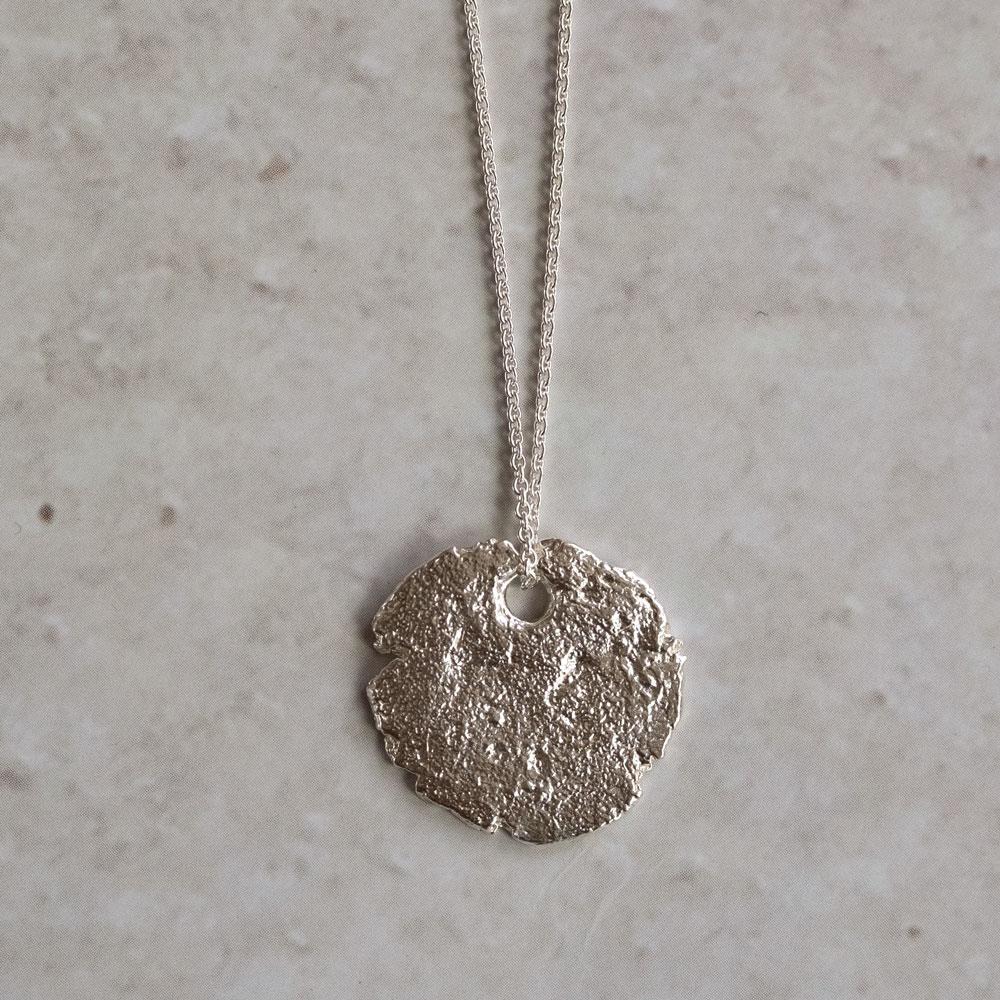 Continent Circular Tag silver