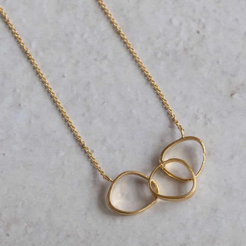 Triangle Wings 14kt Gold