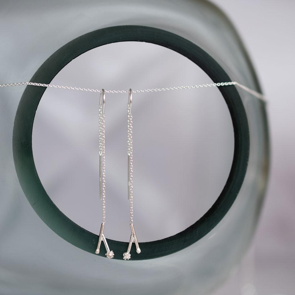 Twig Hanger Silver