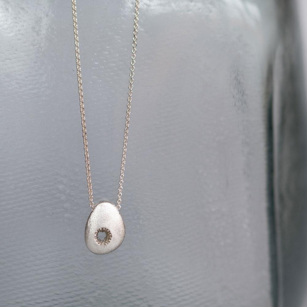 Vulcano Necklace Silver