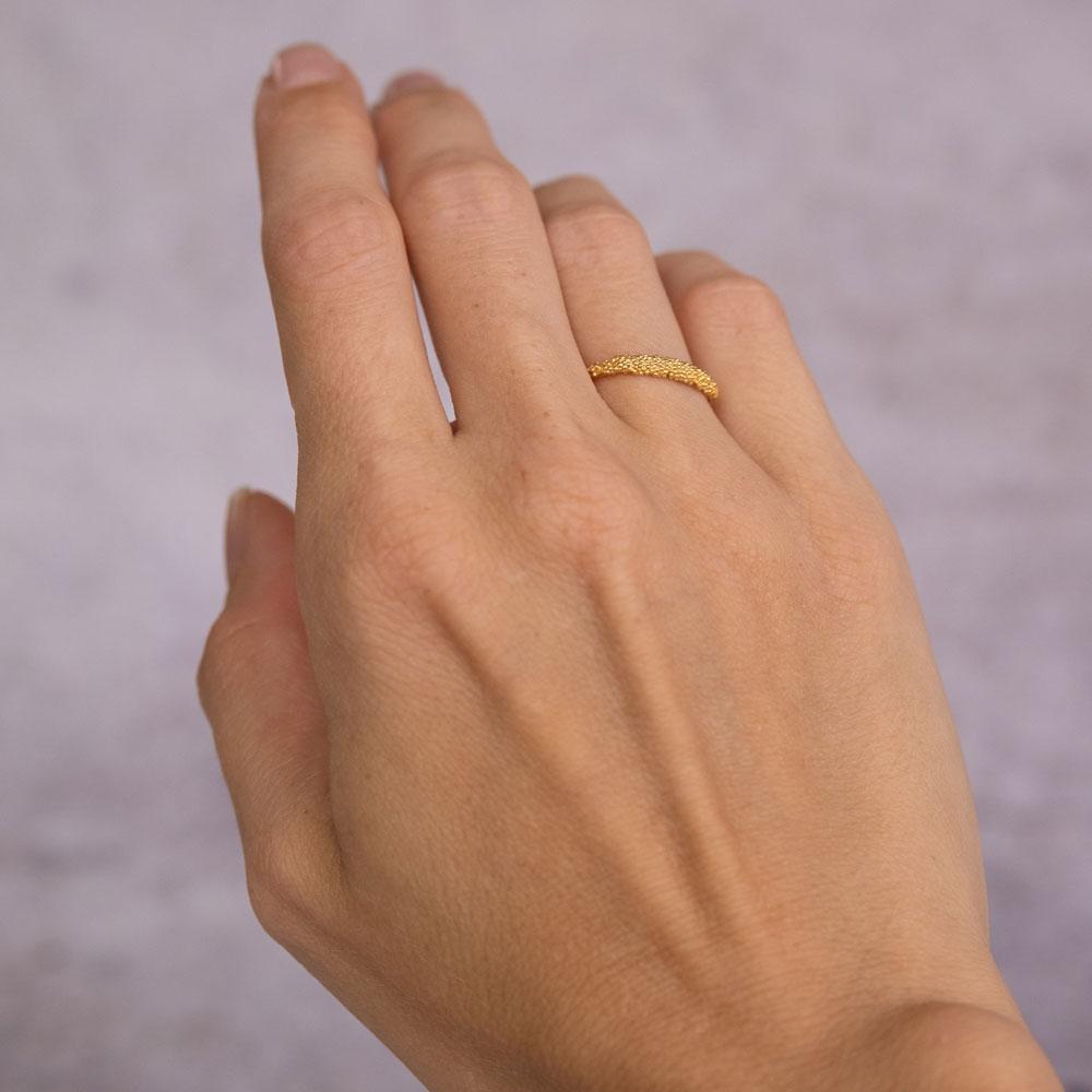 Sparkling Ring 14 kt Gold