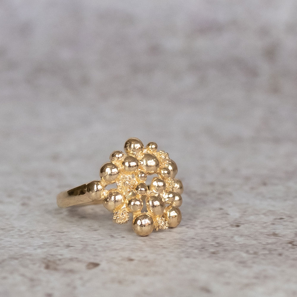 Blossom Dream Ring 14 kt Gold