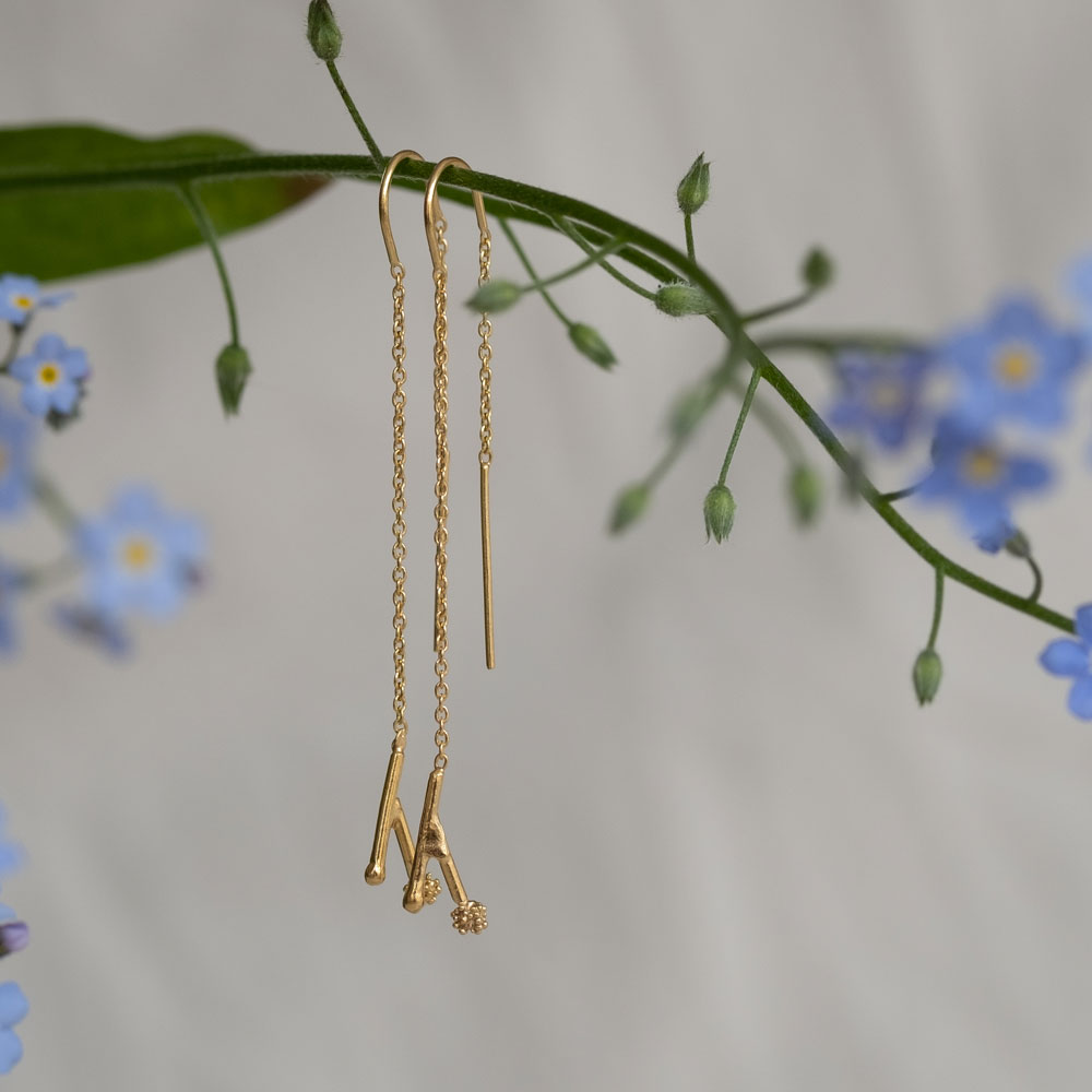 Twig Hanger Gold Plated