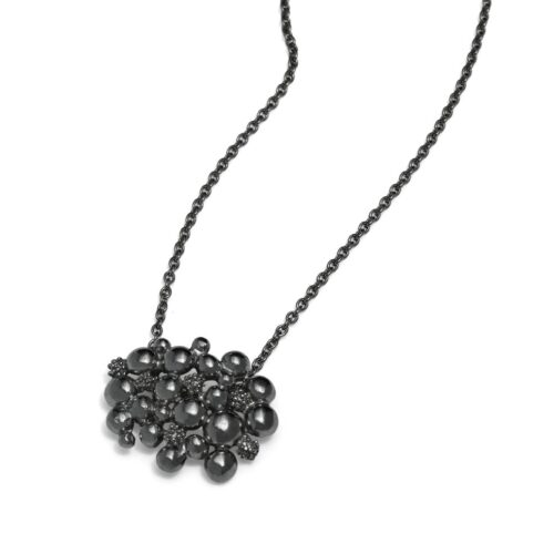 Blossom Dream Oxidised Silver