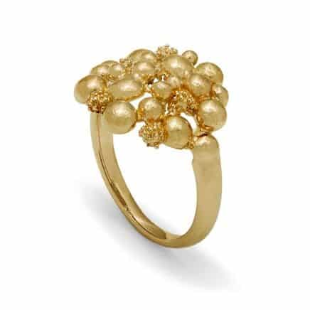 Blossom Dream Ring 14 kt Gold