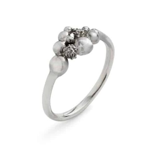 Blossom Ring Small Silver
