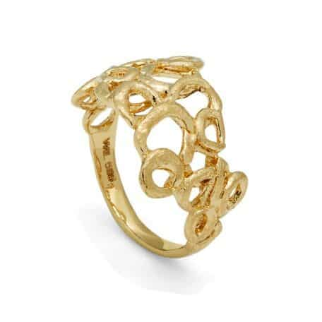 Bubble Ring 14kt Gold