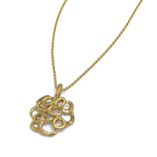 Bubble Necklace 14kt Gold