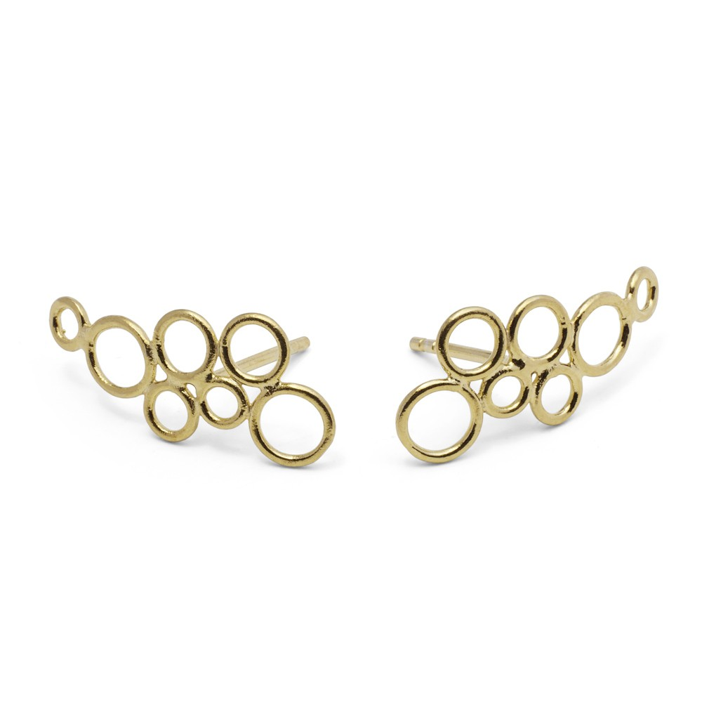 Circles Level Gold Plated