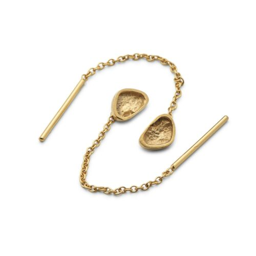 Continent Ear Chain Gold Plated