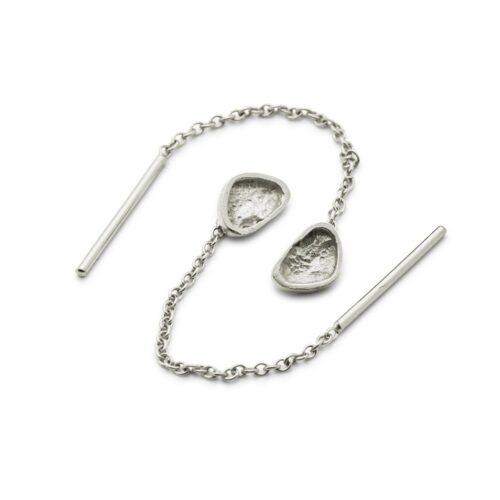 Continent Ear Chain Silver