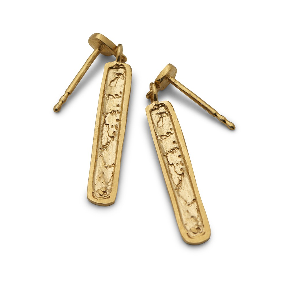 Continent Stick Hanger Gold Plated
