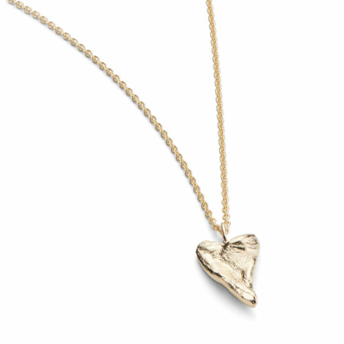 Heart Medium Necklace Gold Plated