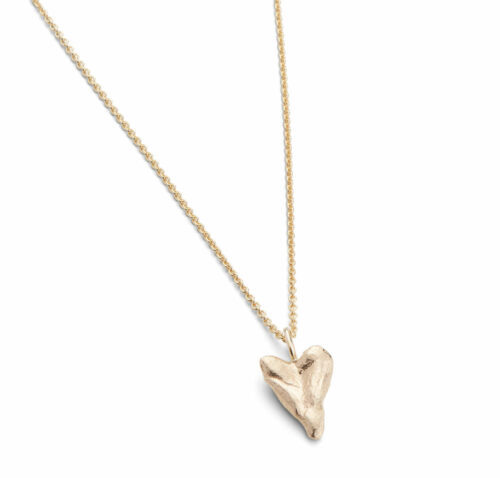 Heart Small Necklace 14kt Gold