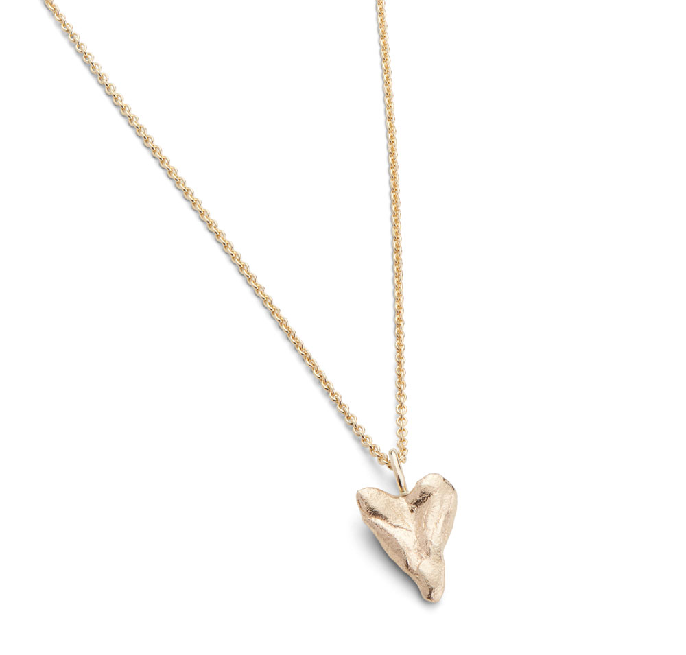 Heart Small Necklace Gold Plated