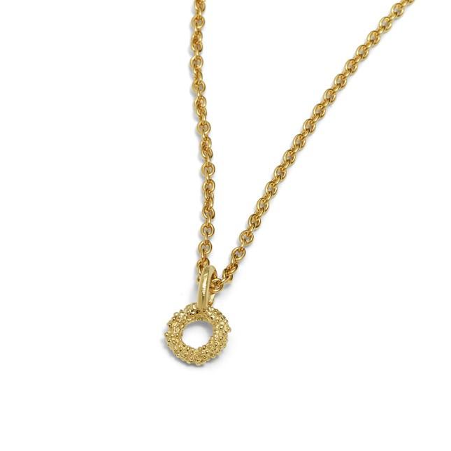 Loop Penden 14kt Gold