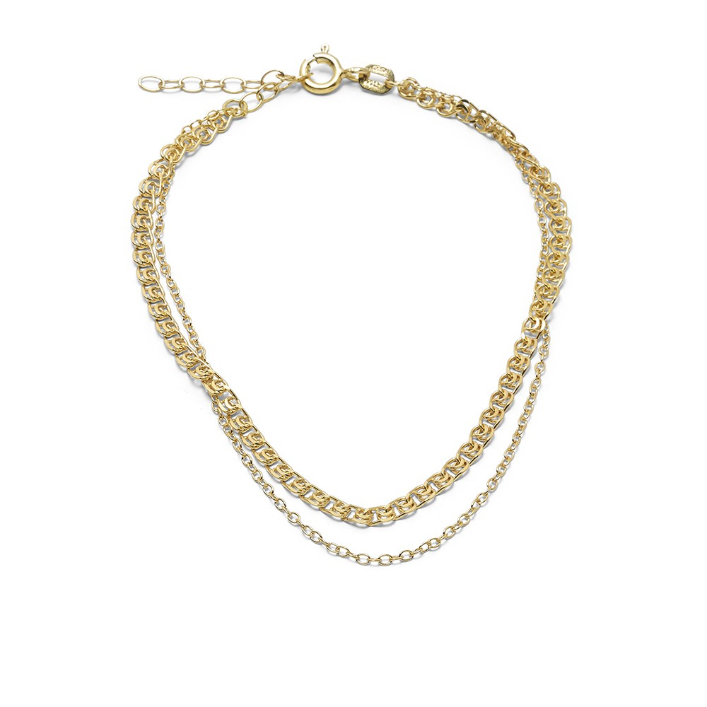 Orient Chain Bracelet Gold Plated