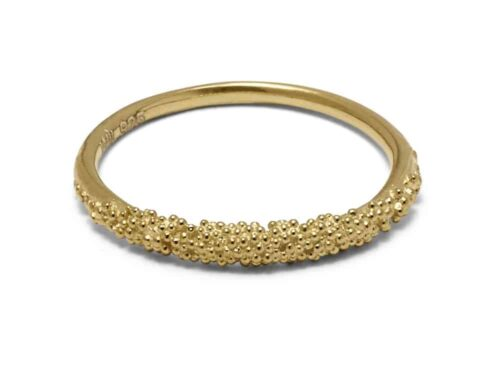 Sparkling Ring Gold Plated