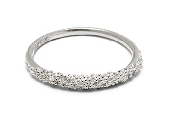Sparkling Ring Silver