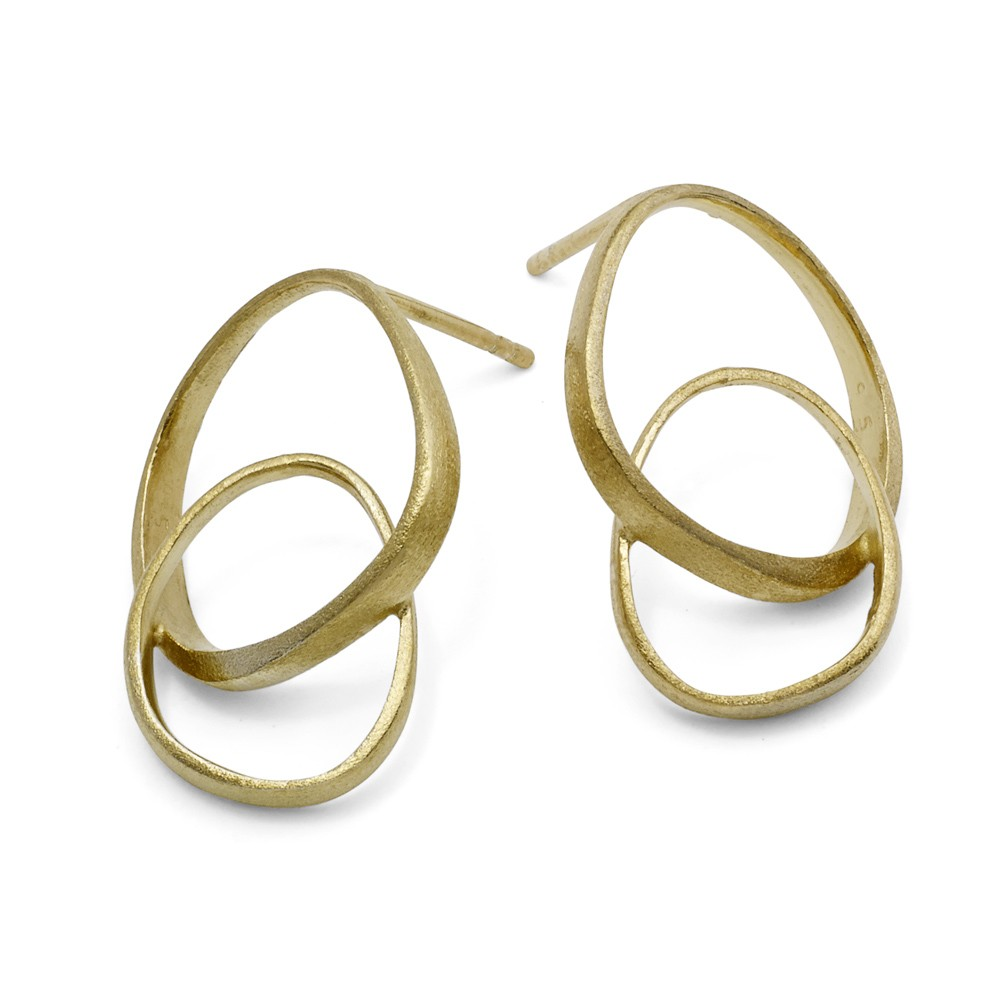 Triangle Loop Gold Plated