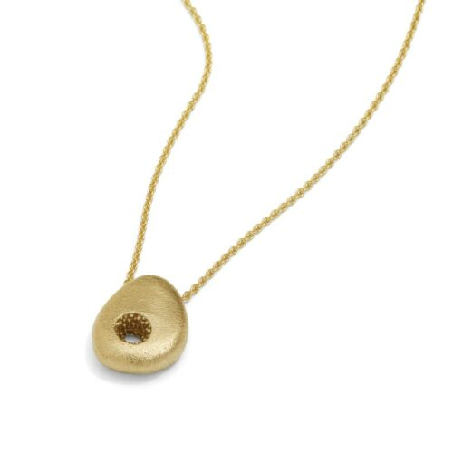 Vulcano Necklace 14kt gold
