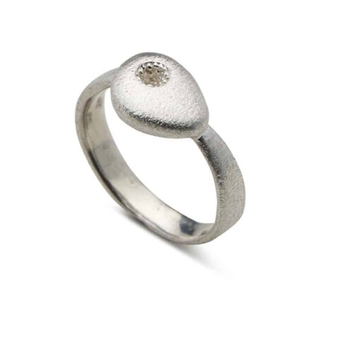 Vulcano Ring Silver
