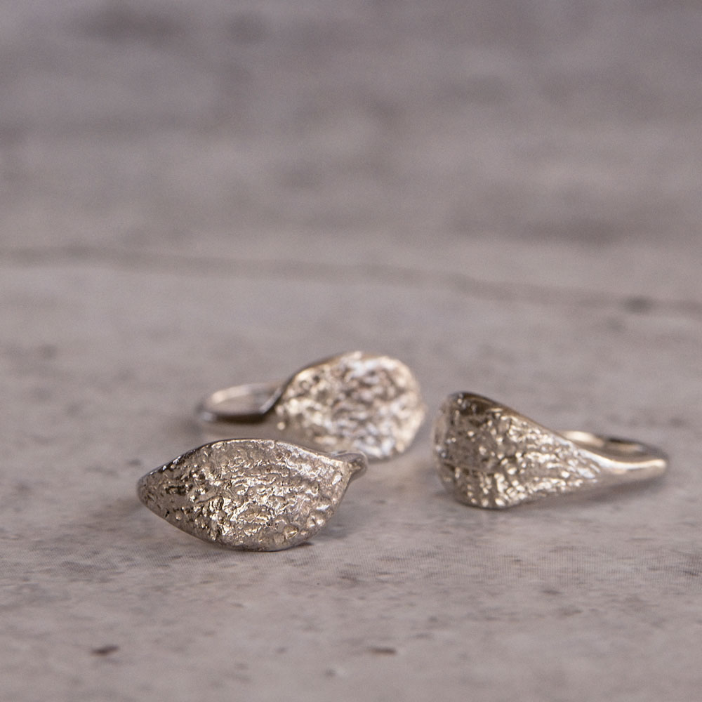 Continent Leaf Ring